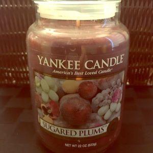 Sugared Plums Large Jar Yankee Candle